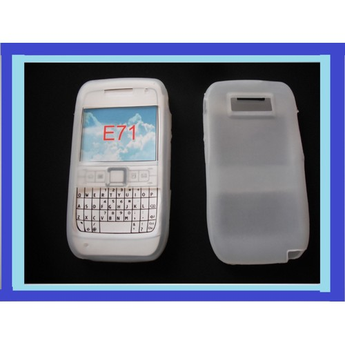 Silicon Nokia E71 Silicone Blanc Nokia E71