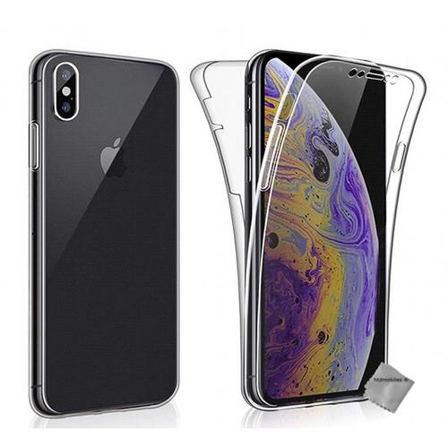 coque iphone xs max en verre trempé