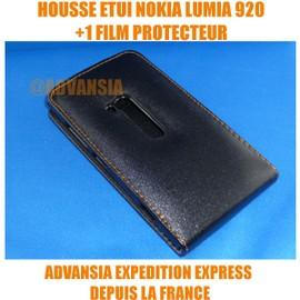 Housse Etui Coque Nokia Lumia 920 + 1 Film Offert + 1 Stylet Capacitif