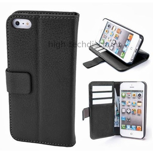 Housse etui coque pochette portefeuille pour apple iphone for Etui housse iphone 5