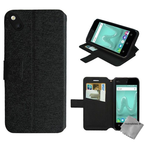 Housse etui coque pochette portefeuille pour wiko sunny for Housse wiko sunny 2