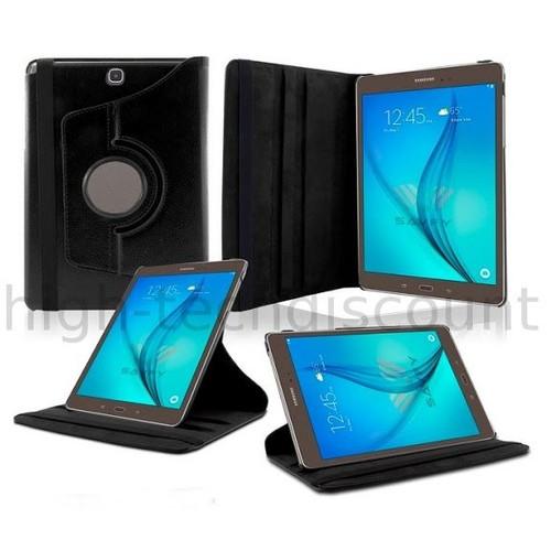 Housse etui coque pochette pu cuir pour samsung galaxy tab e 9 6 t560 film ecran noir - Pochette pour tablette samsung ...