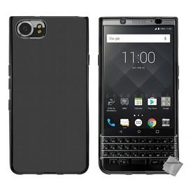 housse etui coque pochette silicone gel fine pour blackberry keyone film ecran noir. Black Bedroom Furniture Sets. Home Design Ideas