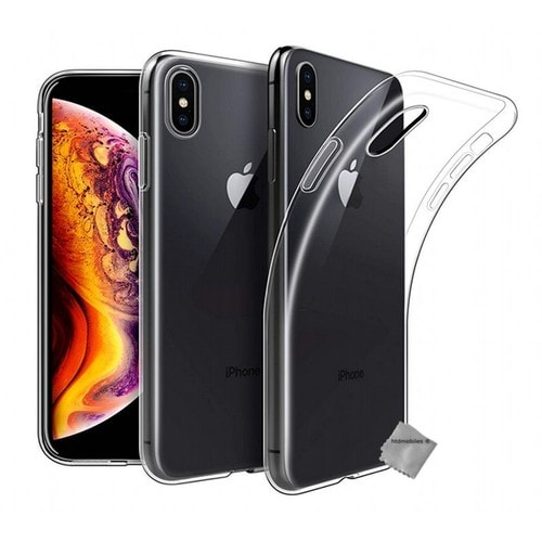 coque iphone xs apple silicone