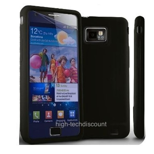 Housse etui coque silicone pour samsung i9100 galaxy s2 for Housse samsung galaxy s2