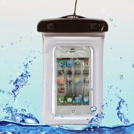 Housse Etui Pochette Etanche Waterproof Pour Lg Leon 4g Lte - Blanc