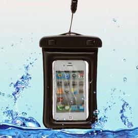 Housse Etui Pochette Etanche Waterproof Pour Sosh Soshphone 4g - Noir