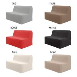 housse pour canap bz 140 x 204 cm diff rents coloris. Black Bedroom Furniture Sets. Home Design Ideas