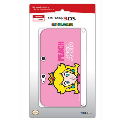 Housse protection silicone console nintendo 3ds xl rose for Housse 2ds mario