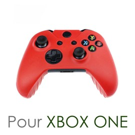 Housse Silicone De Protection Pour Manette Xbox One - Rouge