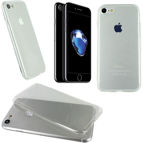 Housse silicone ultra slim transparente pour apple iphone for Housse pour iphone 7