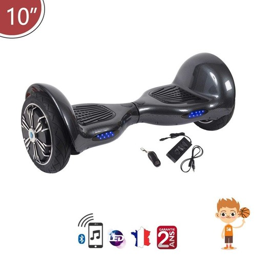 hoverboard 10 pouces tout terrain bluetooth gyropode. Black Bedroom Furniture Sets. Home Design Ideas