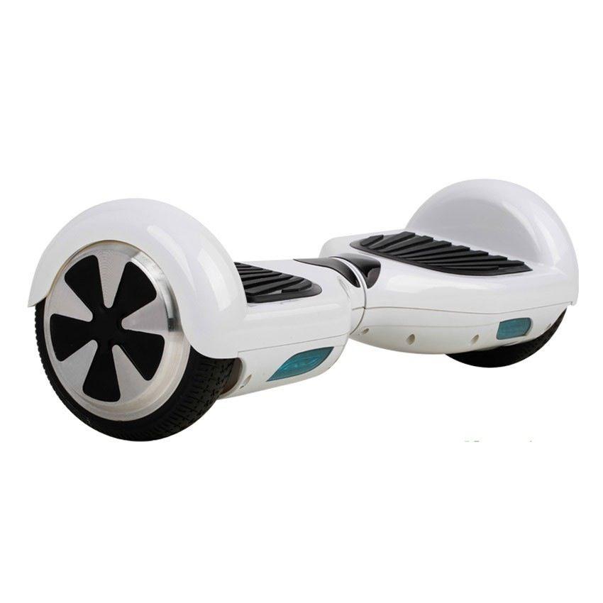 hoverboard skateboard lectrique gyropode bboard blanc. Black Bedroom Furniture Sets. Home Design Ideas