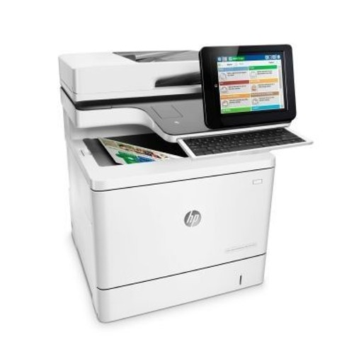 hp color laserjet entflow mfp m577c imprimante laser couleur scanner photocopieuse fax lan. Black Bedroom Furniture Sets. Home Design Ideas