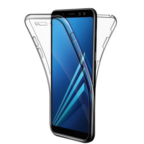 fb2b815074849 HQ-CLOUD® Coque Samsung Galaxy J6 2018,Coque Housse Etui Gel 360 Protection  INTEGRAL Transparent INVISIBLE pour Samsung Galaxy J6 2018 Hq-Cloud
