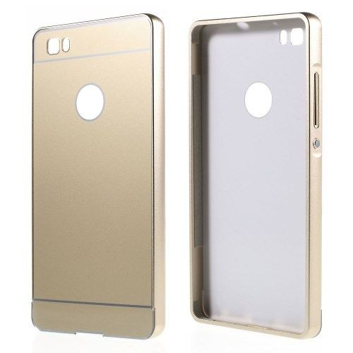 huawei p8 lite bumper gold dor coque pas cher priceminister. Black Bedroom Furniture Sets. Home Design Ideas