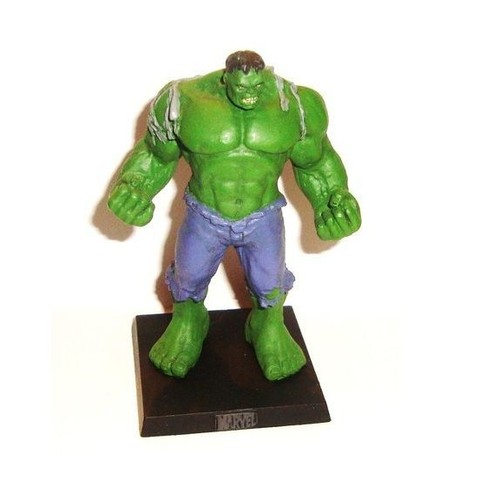 hulk figurine en plomb marvel super heroes la collection