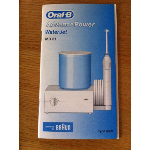 hydropulseur water jet braun oral b md 31 pas cher priceminister. Black Bedroom Furniture Sets. Home Design Ideas