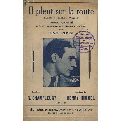 Il Pleut Sur La Route - Tango Chante. de HIMMEL HENRY