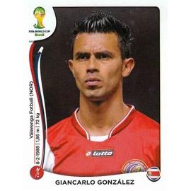 Image Panini Foot World Cup 2014 - Giancarlo Gonzalez - N� 282 - Costa Rica