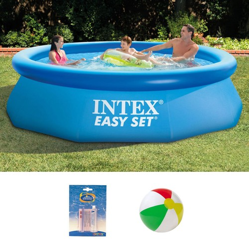 intex 28120 piscine autoportante easy set 305 x 76 cm pas cher. Black Bedroom Furniture Sets. Home Design Ideas