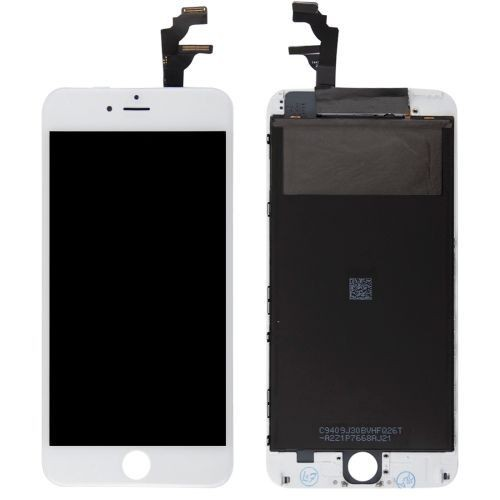 iphone 6 plus ecran remplacement complet vitre tactile lcd blanc. Black Bedroom Furniture Sets. Home Design Ideas