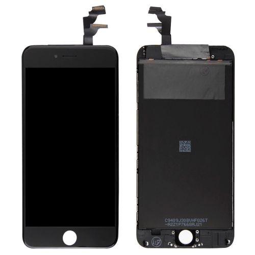 iphone 6 plus ecran remplacement complet vitre tactile lcd noir. Black Bedroom Furniture Sets. Home Design Ideas