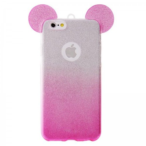 iphone 7 coque silicone paillette