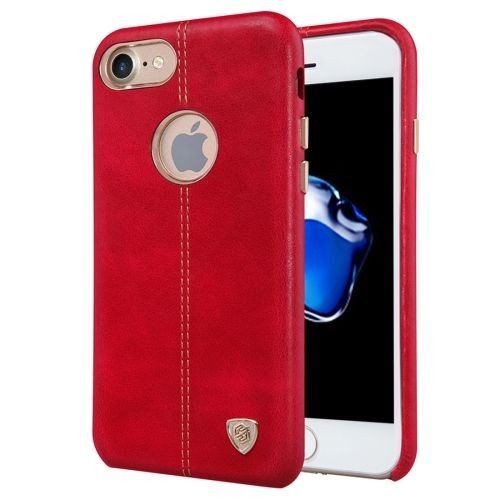 Iphone 7 housse etui cuir pu rouge texture peau pas cher for Housse iphone 7 cuir