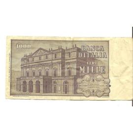Italy, 1000 Lire - France - Italy, 1000 Lire - France