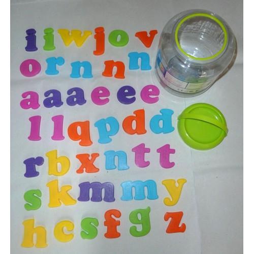 j 39 apprends l 39 alphabet 40 maxi lettres minuscules magn tiques fnac veil et jeux. Black Bedroom Furniture Sets. Home Design Ideas