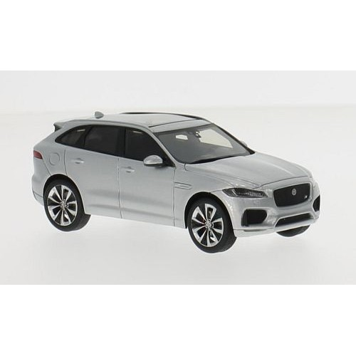 jaguar f pace argent 2016 voiture miniature miniature d j mont e truescale miniatures 1 43. Black Bedroom Furniture Sets. Home Design Ideas