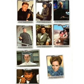 James Bond Villains Trading Cards