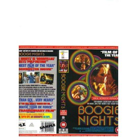 Jaquette Vhs Boogie Nights . Mark Whalberg