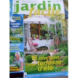 Jardin Facile Burda N° 28 : 15 Idées Futées Pour Une Terrasse D\'été ...