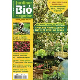 Jardiner bio magazine n 23 enrichir naturellement tous for Magazine jardinage