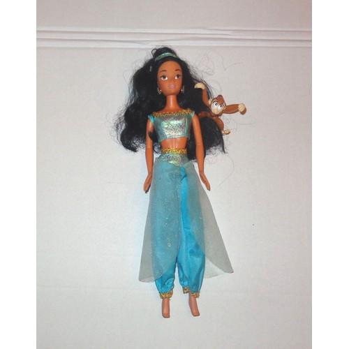 Jasmine d 39 aladdin aladin de disney le petit singe abu - Singe de aladin ...