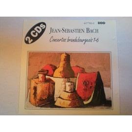 Concertos Brandebourgeois 1-6 - Jean-S�bastien Bach