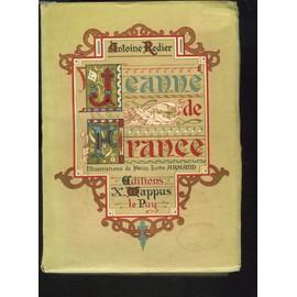 Jeanne De France de ANTOINE REDIER