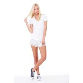 b0a2927e80989 T-Shirt Femme Col V Profond Bella Canvas - Achat et vente - Rakuten
