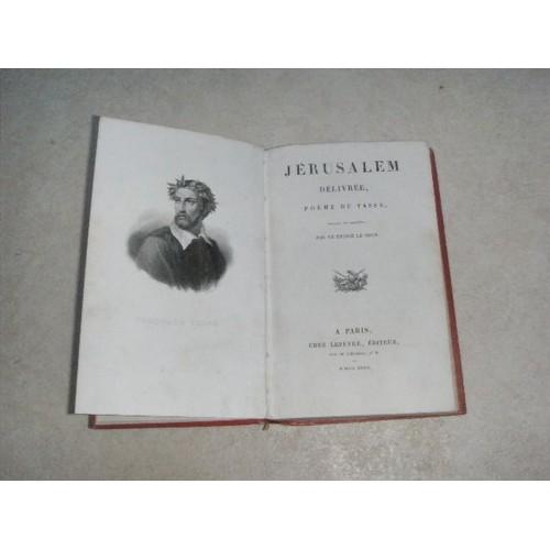 Jérusalem Délivrée Poème Du Tasse Traduit En François Par Le Prince Le Brun