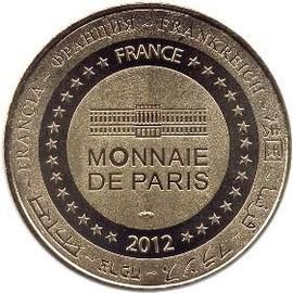 monnaie de paris disneyland 2012