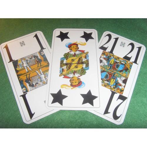 5cc62f998204dc Jeu De Tarot Optic Vision - Jeu De Cartes À Jouer - 78 Cartes - Fft