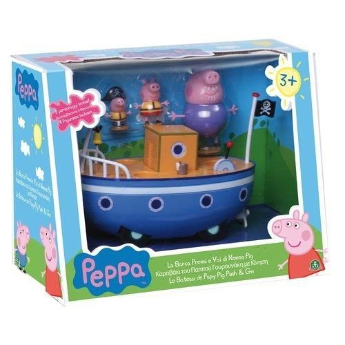 jeu giochi preziosi le bateau de papy webbels peppa pig. Black Bedroom Furniture Sets. Home Design Ideas