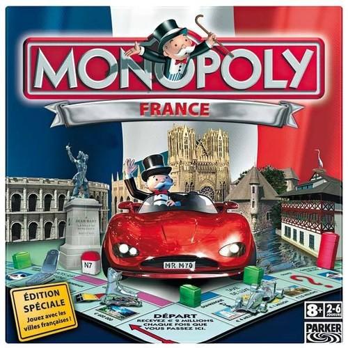 jeu monopoly france jouez avec les villes francaises achat et vente. Black Bedroom Furniture Sets. Home Design Ideas