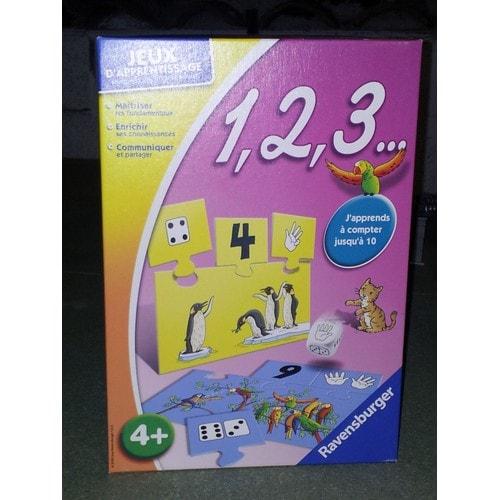 jeux d 39 apprentissage 1 2 3 j 39 apprends compter pour enfant de 4 ans et. Black Bedroom Furniture Sets. Home Design Ideas