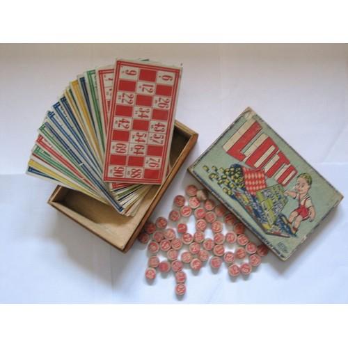 jeux loto ancien en boite en bois achat et vente rakuten. Black Bedroom Furniture Sets. Home Design Ideas