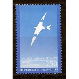 Jeux Paralympiques � Tignes 1991 - Yt N�2734