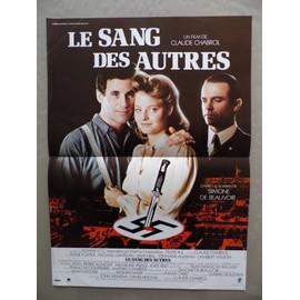 Jodie Foster- Le Sang Des Autres- Affiche Originale 40/60 Cm Du Film De Chabrol