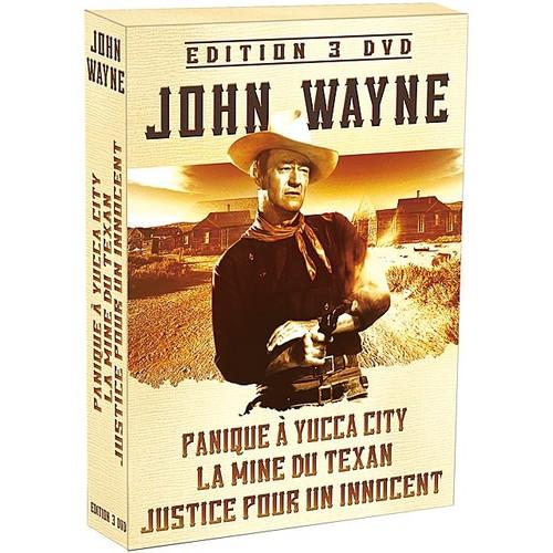 john wayne coffret n 1 panique yucca city la mine du texan justice pour un innocent. Black Bedroom Furniture Sets. Home Design Ideas